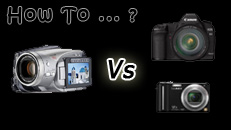 How to choose your video recording device?