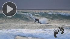 Ian Alldredge - Kitesurfing Lower Trestles