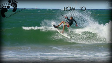 Jeep kitesurfing instructional - Unhooked frontside fin blow copie