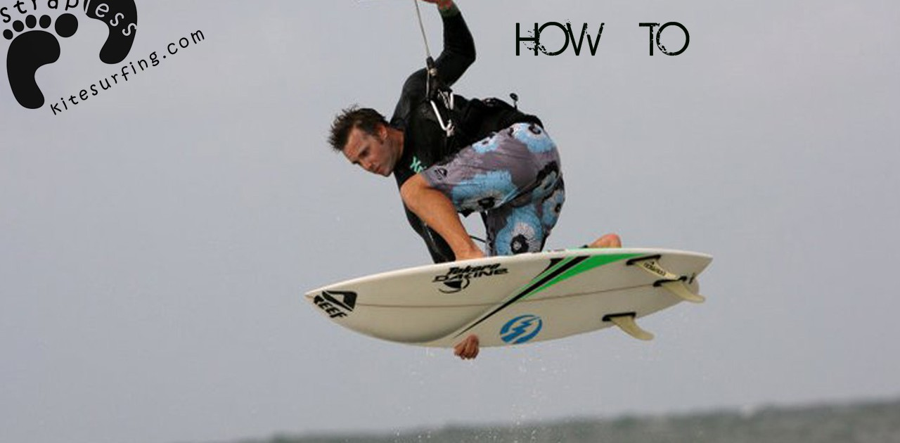 Jeep kitesurfing instructional - Hooked in backside air copie