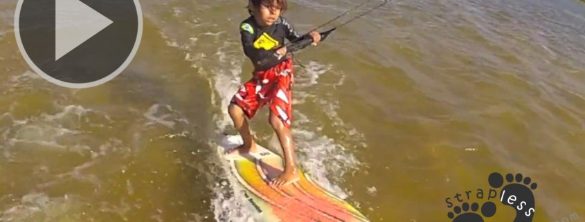 Davi Ribeiro - Youngest Kitesurfer - 3 Years Old copie