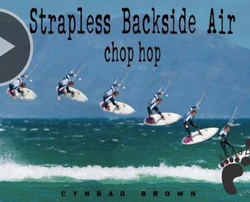 Strapless Backside Air Chop Hop copie