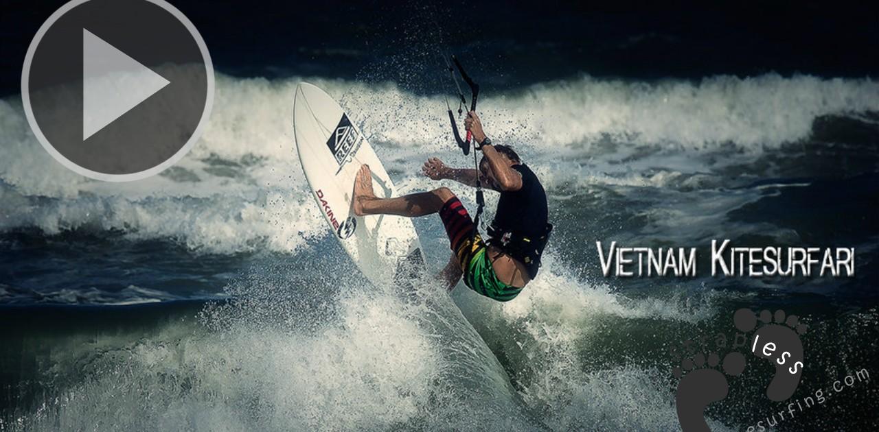 Vietnam kitesurfari with Bombora Surf Company copie