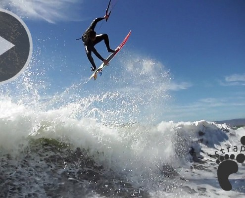 Ian Alldredge testing the Rawson 5'7 on his 8m Noise Pro copie