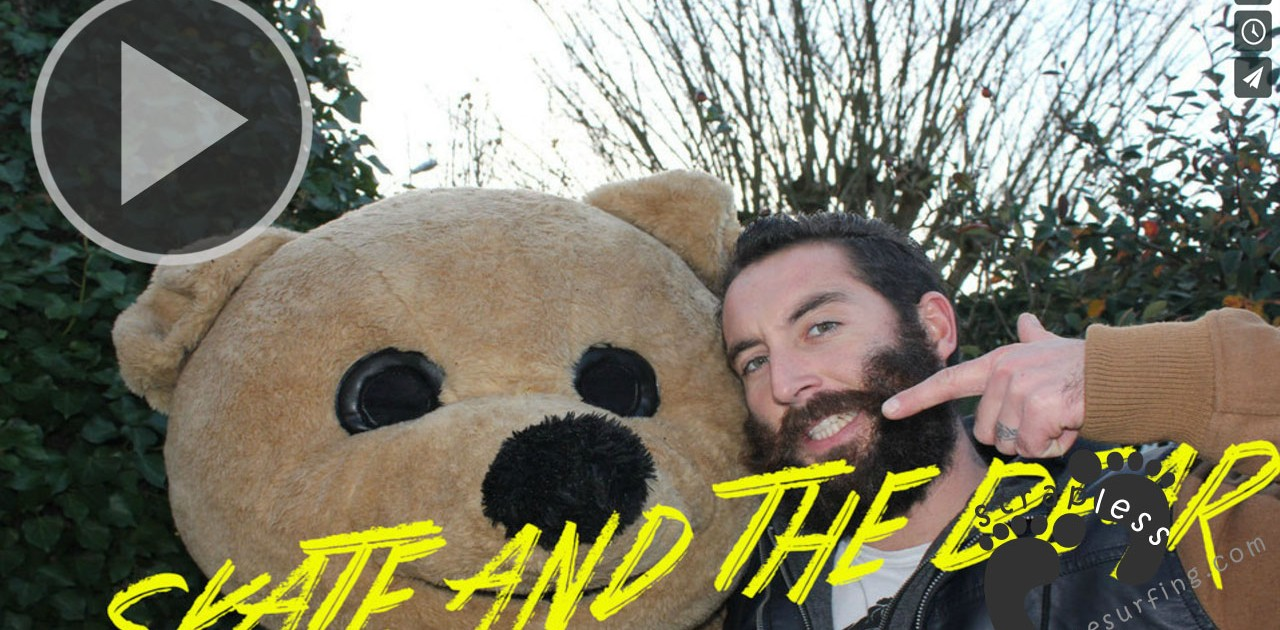 skate and the bear