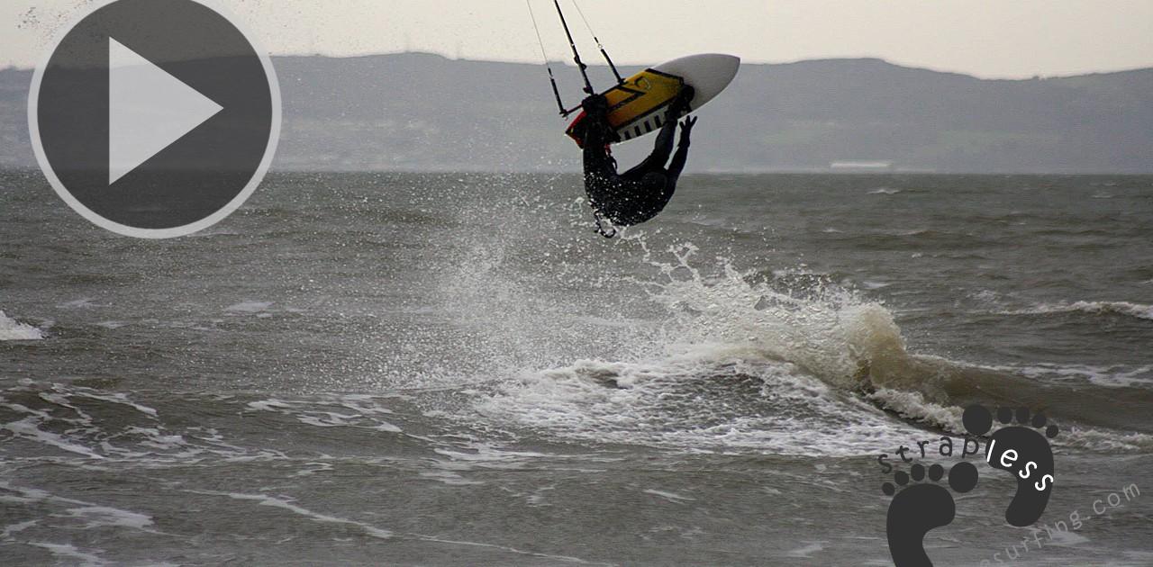 Lewis Eickholt Kitesurfing Burrow Beach copie