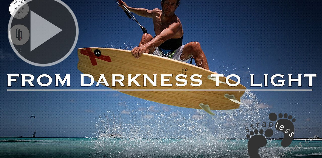 From darkness to light, a story of freedom strapless riding.