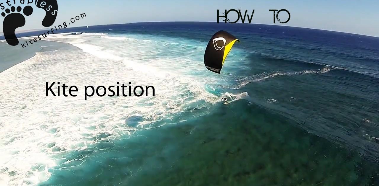 Kitesurfing Instructional Kite Position