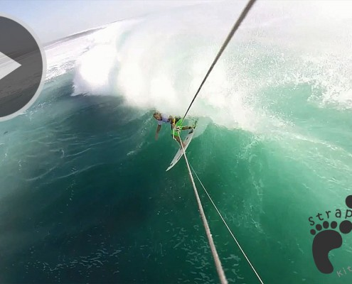 Kitesurfing Tube then getting smashed