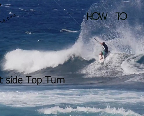 Kitesurfing Trick Tip With Matt Elsasser - Frontside Top Turn