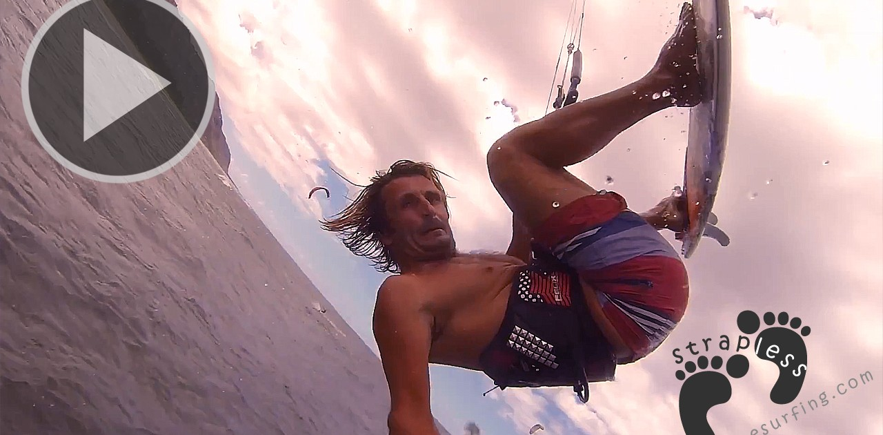 How To - Inverted strapless no-grab backroll - Switch Kiteboarding