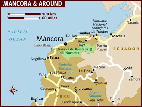 map of ancora