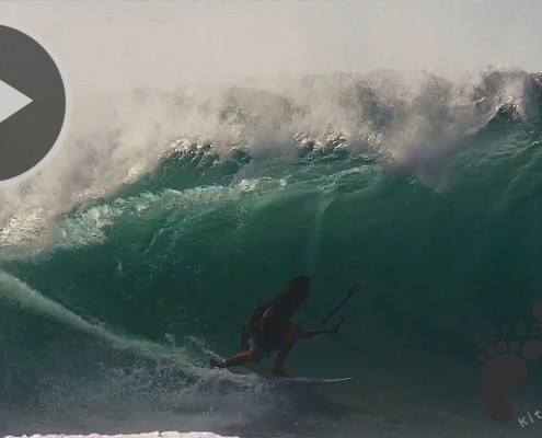From Oregon To Indo - Kitesurfing Barrels - Matt Elsasser