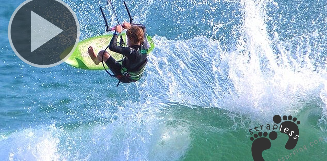 Jack Hardley Kite Surfing