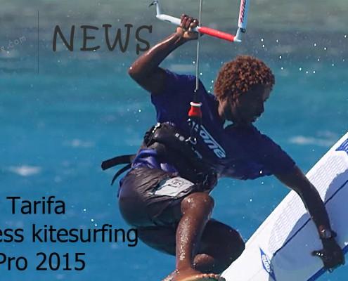 TARIFA STRAPLESS KITESURFING PRO 2015