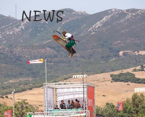 Airton wins the Tarifa strapless kitesurf pro