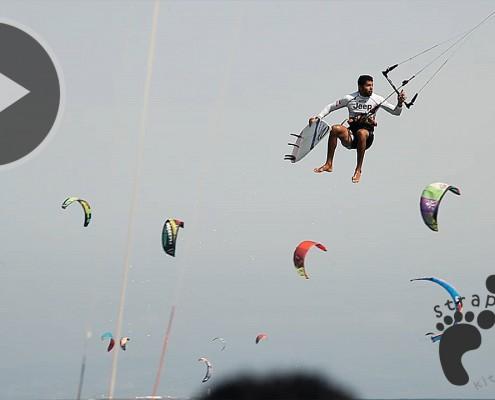 Paulino Pereira - Tarifa Strapless Kitesurfing Pro 2015 - Ozone Catalyst