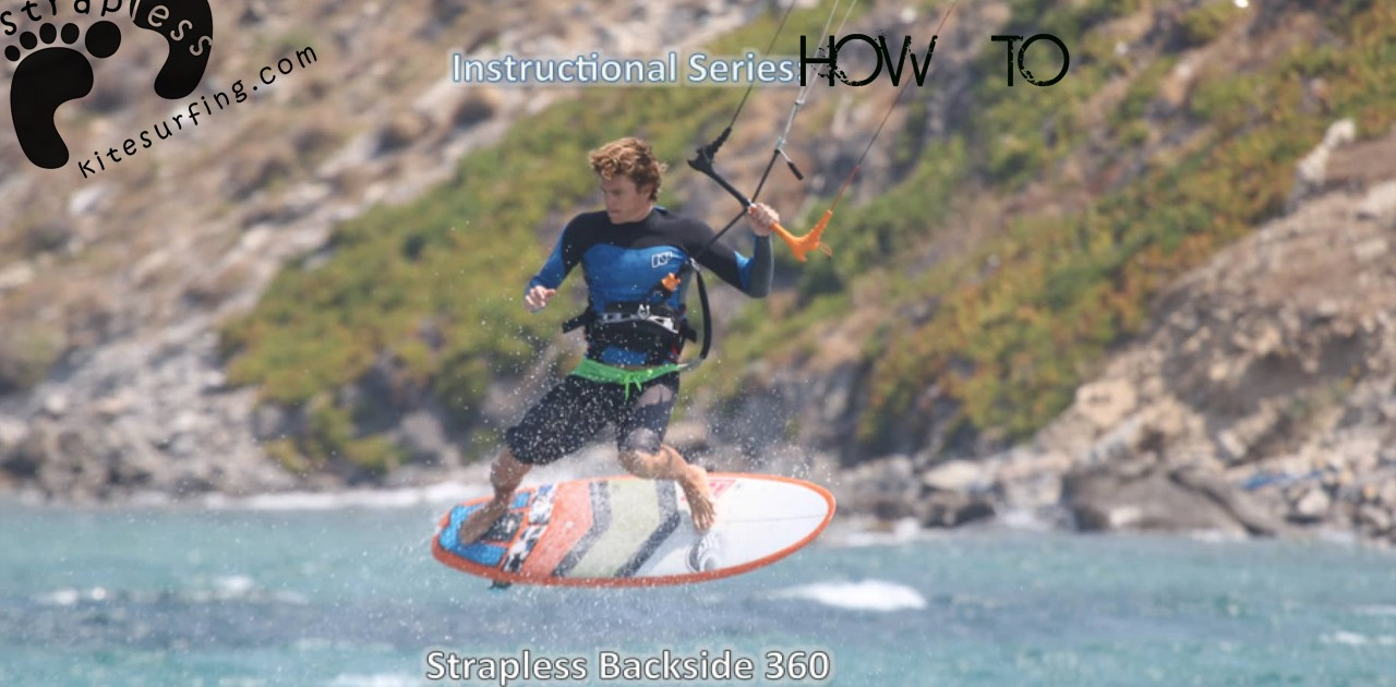How to do a Strapless Frontroll Backside 360