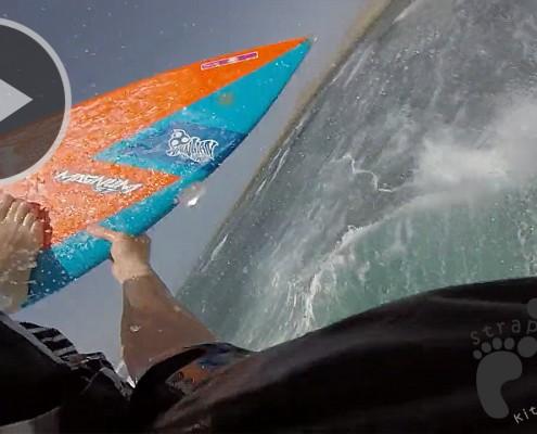 Kitesurfing Fuerte - Cato Olsen and Fadi Issa