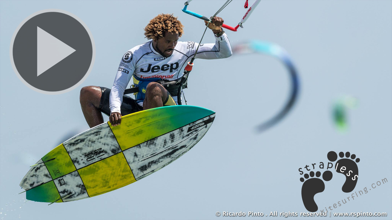 Tarifa Strapless Kitesurfing Pro 2016 Zona 3