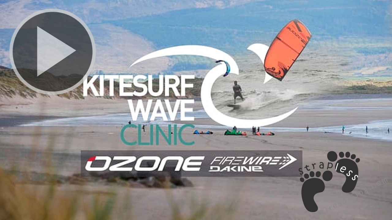 IRELAND Kitesurf Wave Clinic 2017