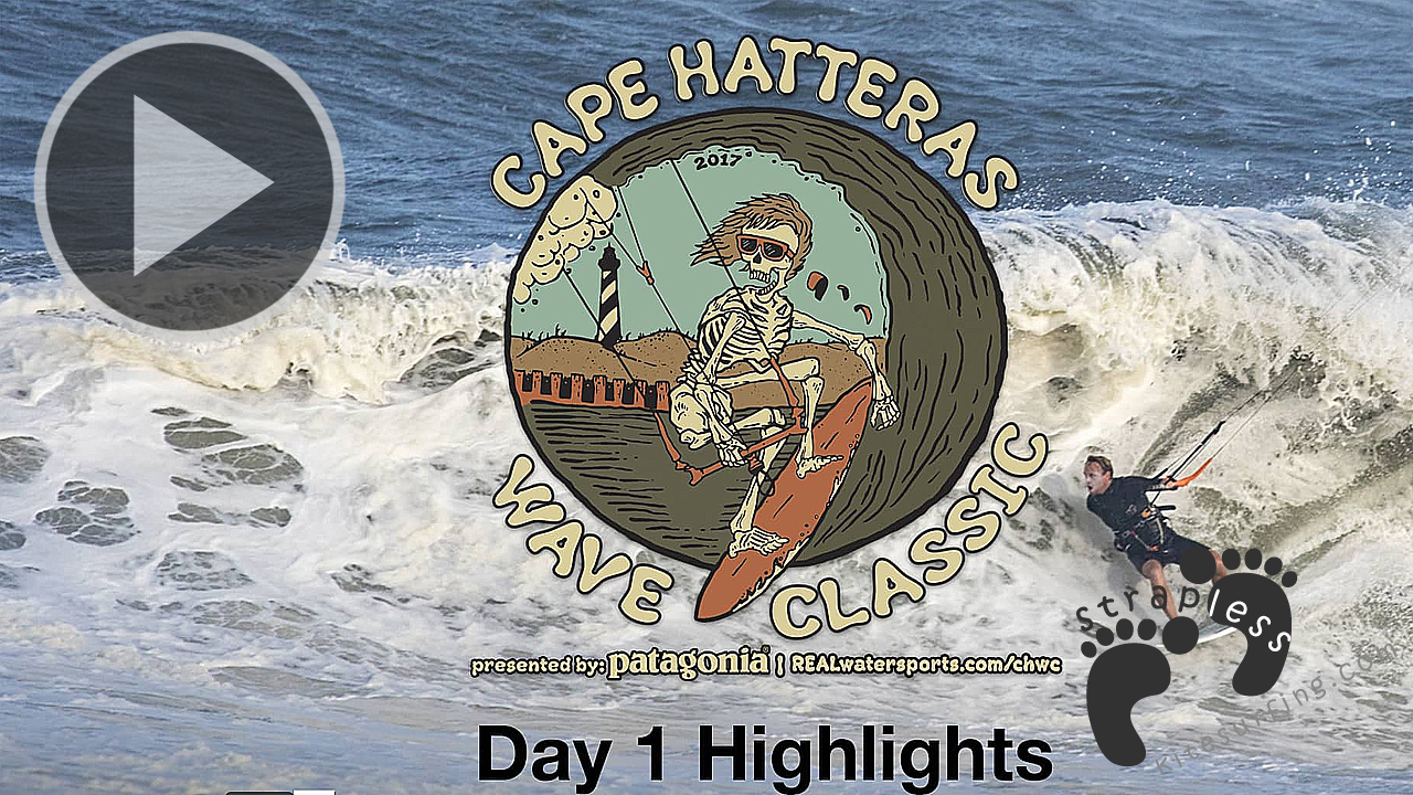 Highlights from Day 1 Cape Hatteras Wave Classic