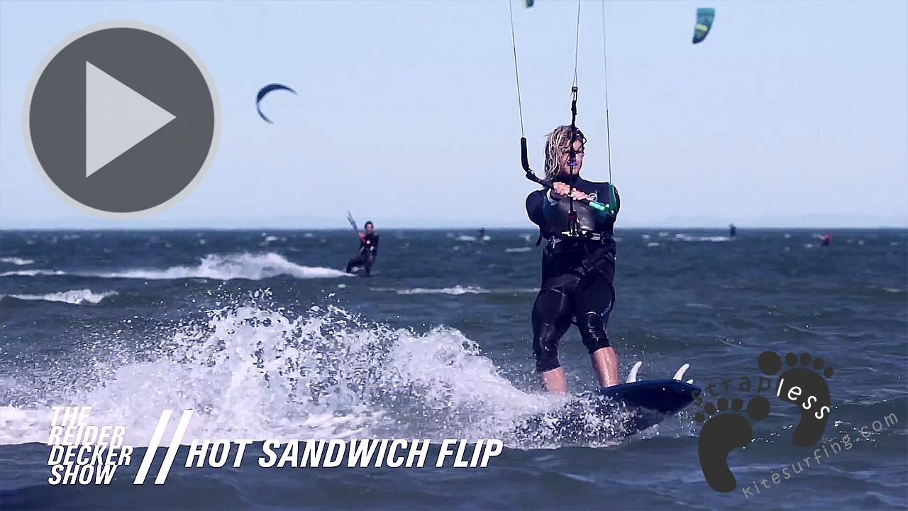 How to do a Hot Sandwich Flip - The Reider Decker Show - EP 5