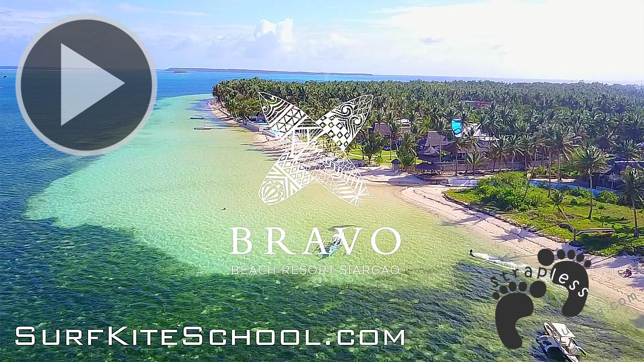 SurfKiteSchool Siargao, Philippines - Episode 01 Kite