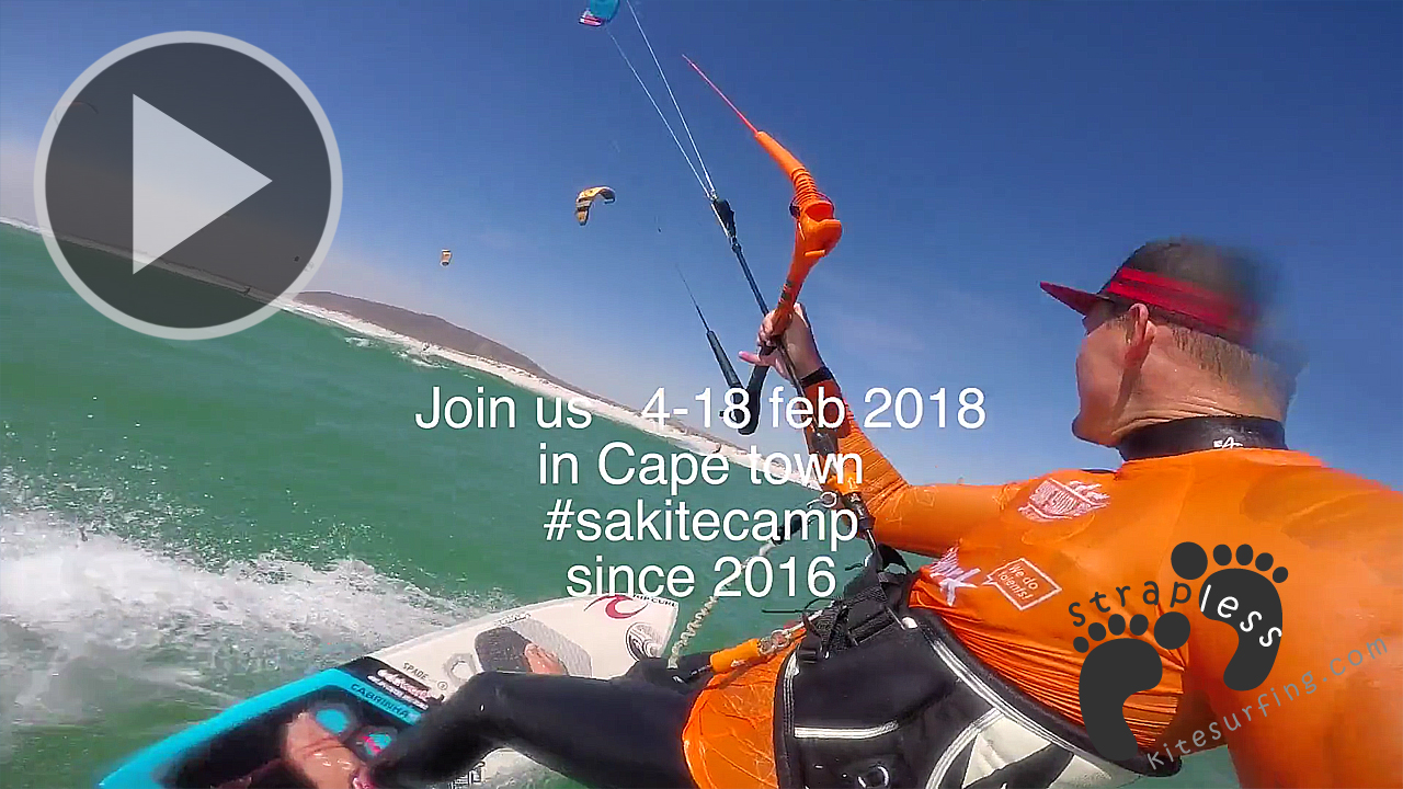 The Oddwork downwind express on SA Kite Camp Cape Town
