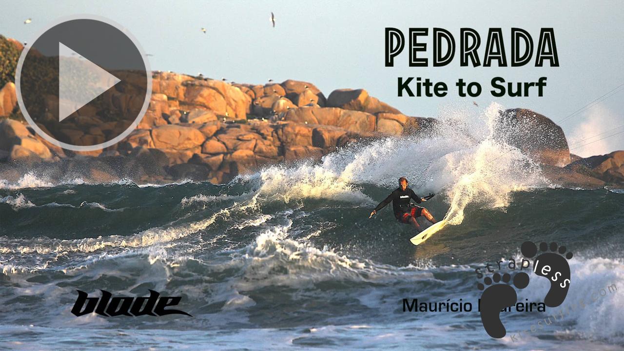 PEDRADA - Kite to Surfrf maurcio Pedreira