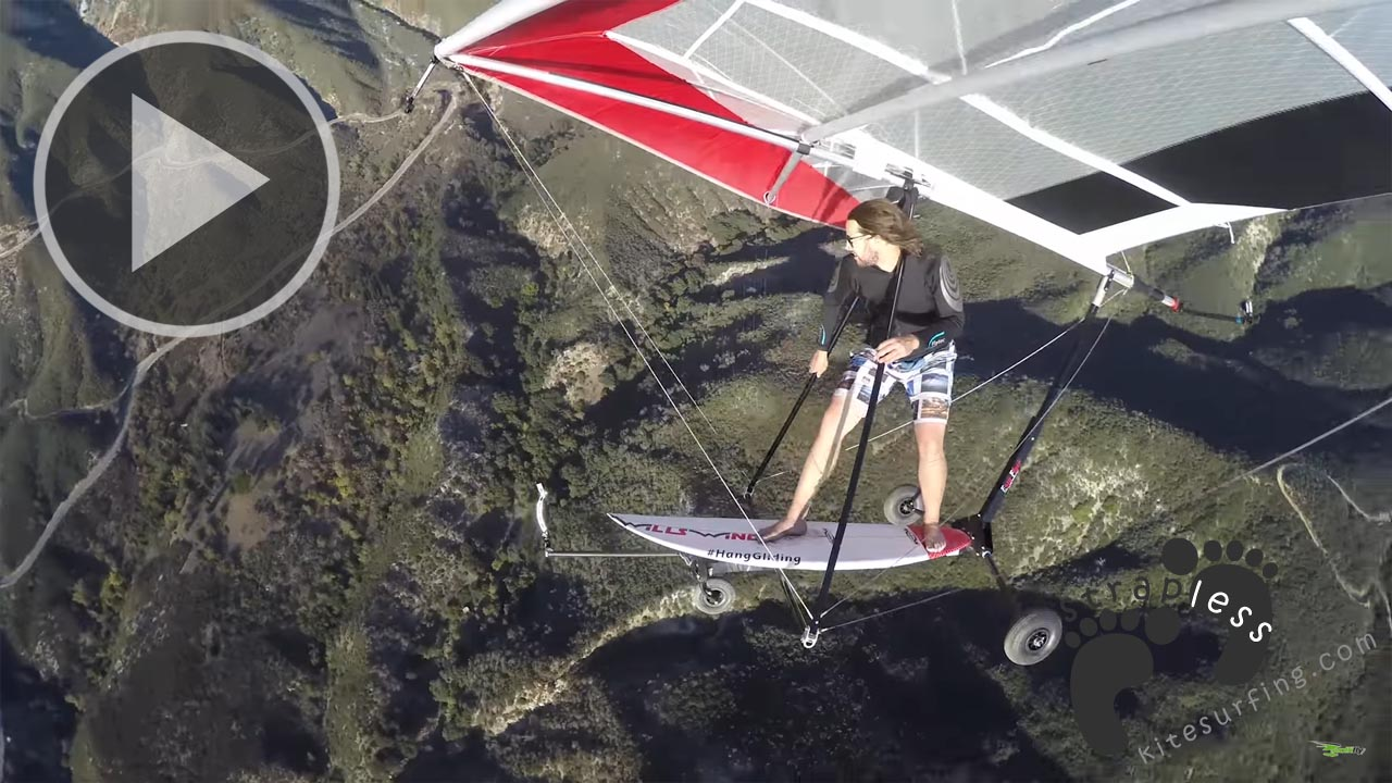 SKY SURFING HANGGLIDING