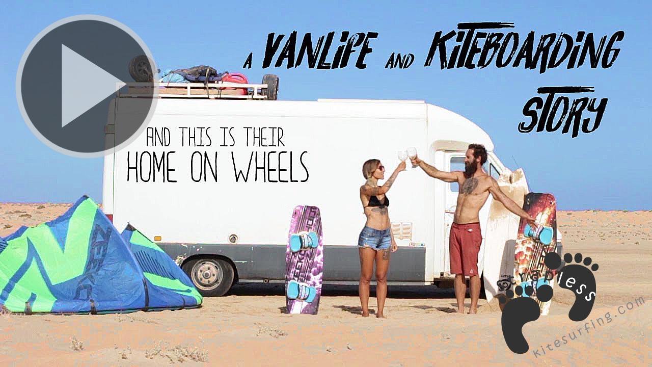 A VANLIFE - KITEBOARDING STORY