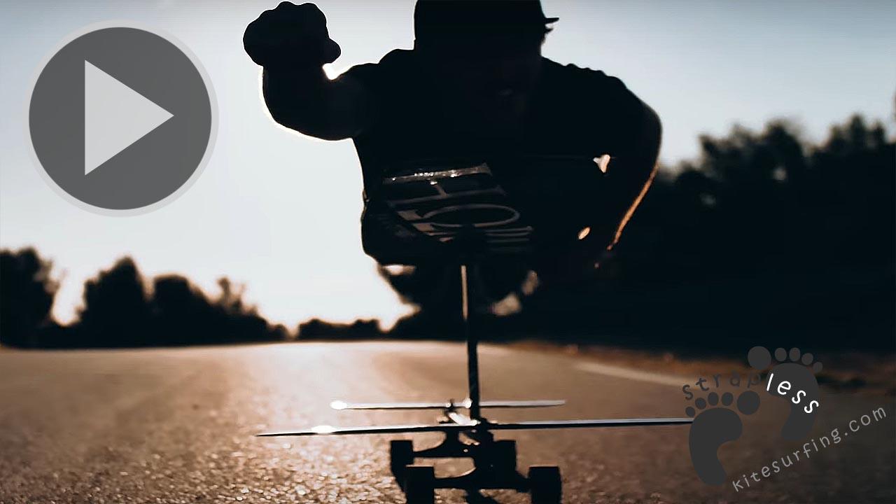 Hydrofoil Skateboarding