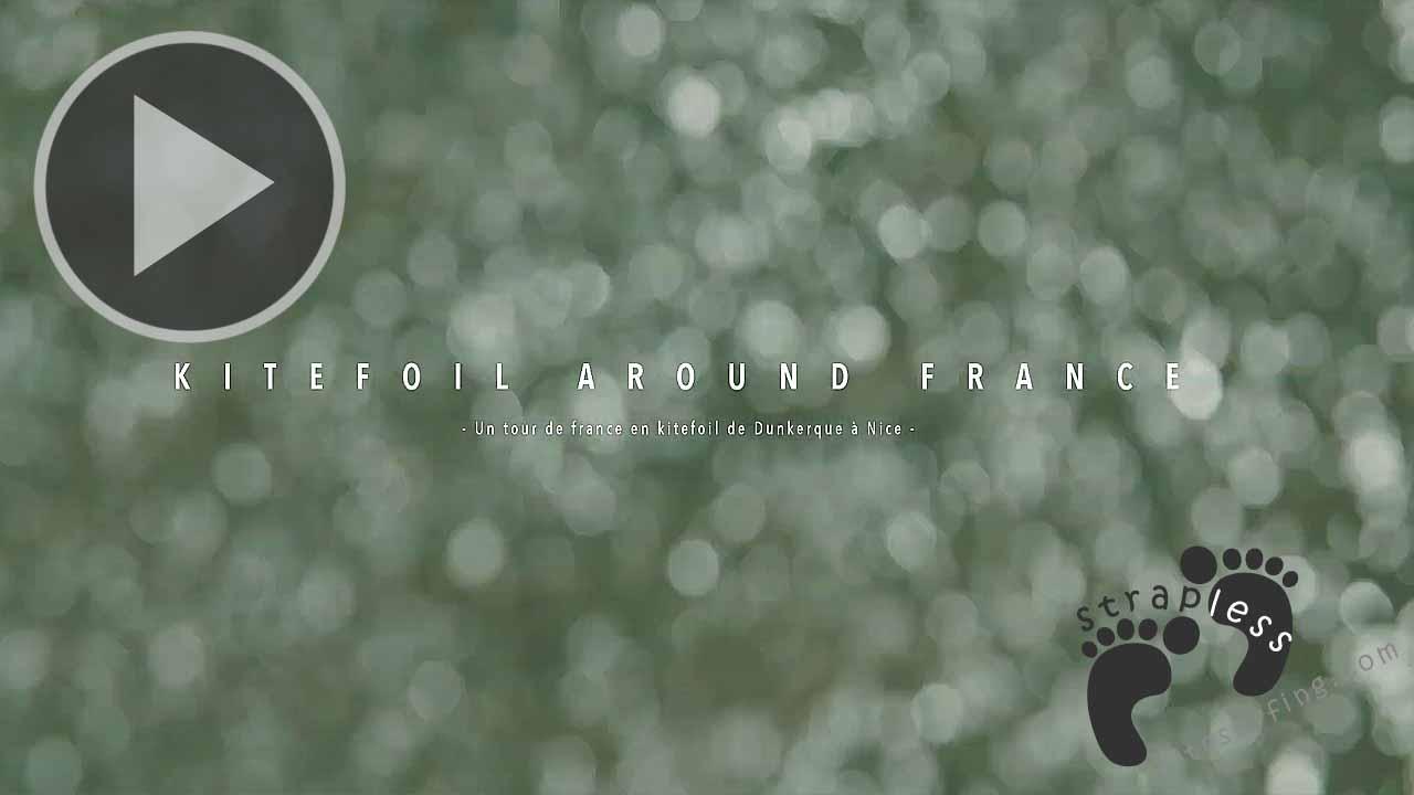 KITEFOIL AROUND FRANCE