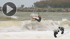Ben Wilson – How to have fun in onshore wind & 1ft surf